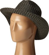 San Diego Hat Company Women's Panama Fedora with Metallic Yarns