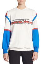 Moschino Tri-Tone Logo Sweatshirt