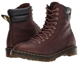 Dr. Martens Santo Archive (Dark Brown/Black Grizzly PU) Boots