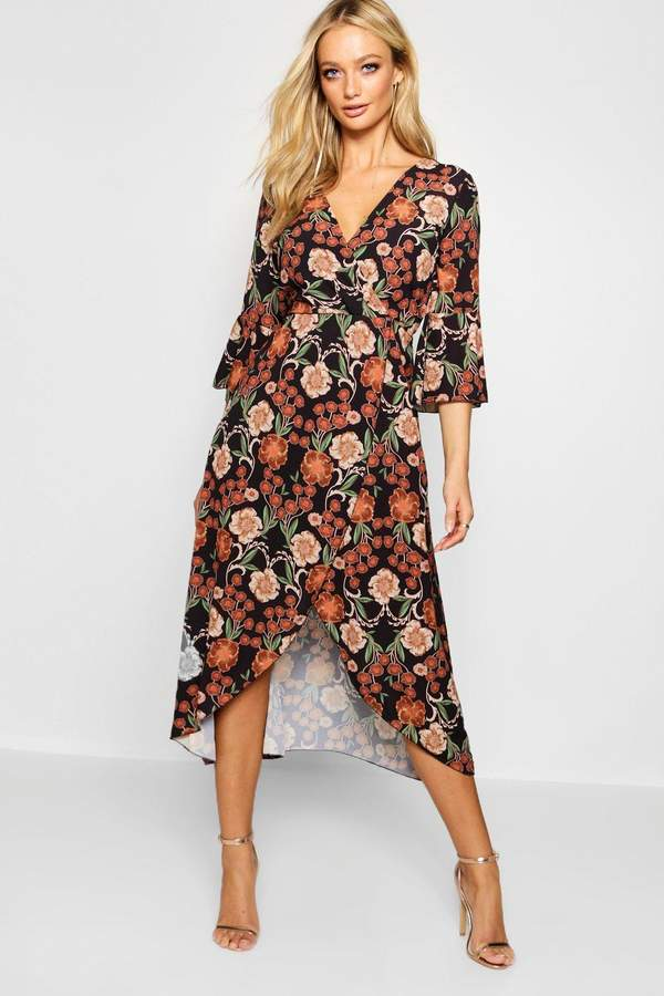 65533415bb8ef boohoo Tie Waist Day Dresses - ShopStyle