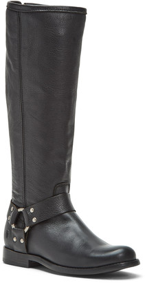 Frye Phillip Harness Leather Tall Boot