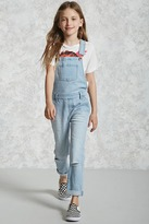 FOREVER 21 girls Girls Denim Overalls (Kids)