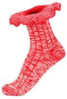 Alexander McQueen Wool and silk-blend socks