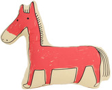 Smallable Orange Horse Cushion