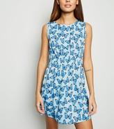 New Look Mela Butterfly Zip Mini Dress