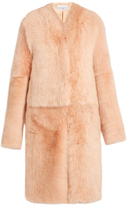 Raey Long shearling coat