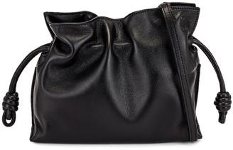 Loewe Flamenco Clutch Mini Bag in Black | FWRD