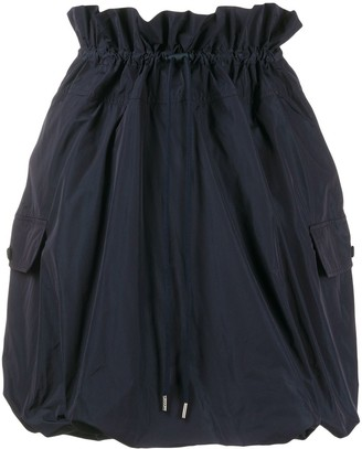Kenzo Ruffle Elasticated Waist Skirt