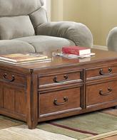 Signature Design by Ashley Dark Brown Woodboro Lift Top Coffee Table