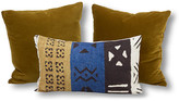 Kim Salmela Set of 3 Lili Pillow Bundle - Yellow/Blue