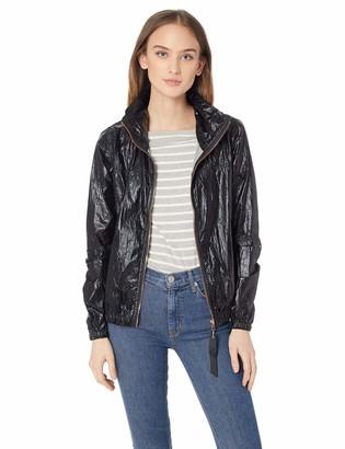AVEC LES FILLES Women's Woven Nylon Commuter Jacket