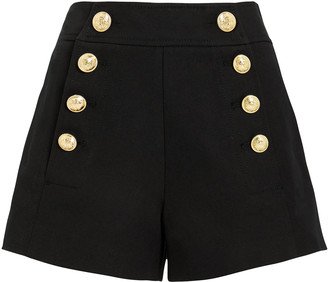 Derek Lam 10 Crosby Tailored Cotton Sailor Shorts