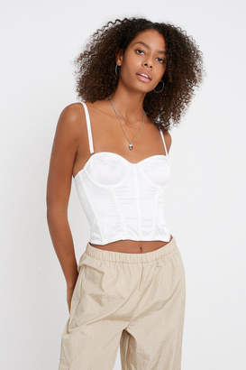 Urban Outfitters Ayla Bustier Cropped Top