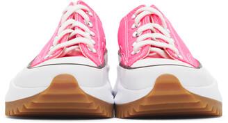 Converse Pink Run Star Hike Low Sneakers