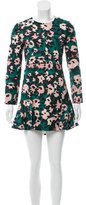 Marni Floral Print Mini Dress