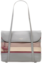 Radley Pembroke Leather Medium Tote Bag, Grey