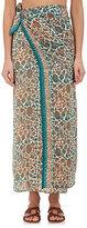 Natalie Martin Women's Floral Silk Oversized Pareo