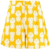 La DoubleJ Good Butt pineapple-print shorts