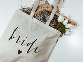 Etsy Bride Gift Set. Tote /Bride Hanger. Bridal shower gift