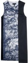 Jil Sander Navy PATTERN DETAIL DRESS