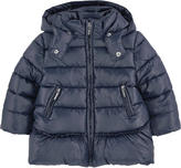 Mayoral Padded coat with a faux fur lining