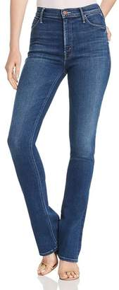 Mother The Runaway High-Waisted Flared Jeans in Sweet And Sassy
