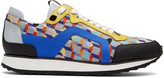 Pierre Hardy Multicolor Camocube Track Sneakers