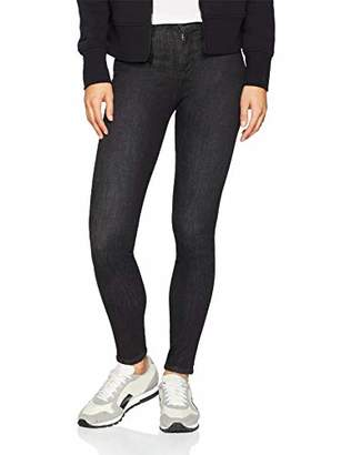 Wrangler Women's HIGH Skinny Jeans, (Used Black 32s)