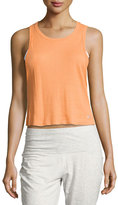 Alo Yoga Air Ribbed Workout Tank Top, Orange