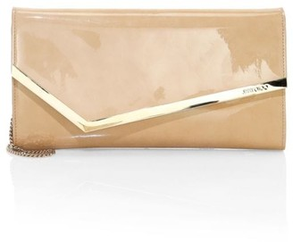 Jimmy Choo Erica Patent Leather Clutch