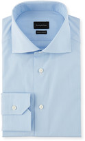 Ermenegildo Zegna Men's Cotton Stripe Dress Shirt