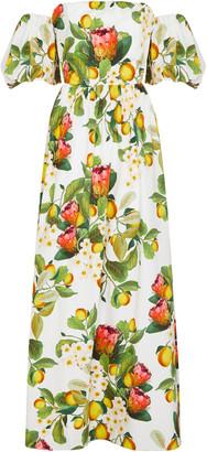 Borgo de Nor Juliet Cotton-Poplin Dress