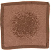 Tom Ford Dot Print Silk Pocket Square