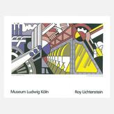 STUDY Roy Lichtenstein For Preparedness Serigraph