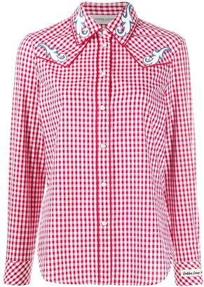 Golden Goose Check Cowboy Shirt