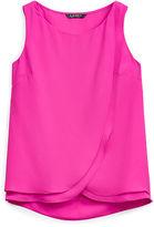 Ralph Lauren Sleeveless Georgette Shirt