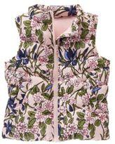 Crazy 8 Floral Puffer Vest