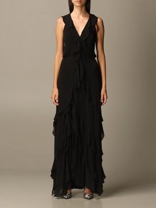 MICHAEL Michael Kors Dress Long Dress With Ruffles