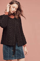 Line Cabled Moto Cardigan