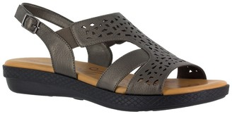Easy Street Shoes Bolt Cutout Sandal - Multiple Widths Available