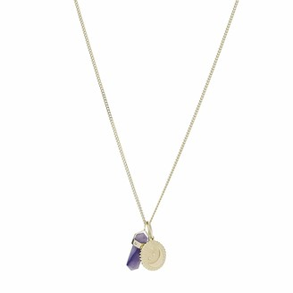 Fossil Power of Crystals Jade Pendant Necklace