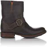 Fiorentini+Baker Women's Buckle-Strap Eli Boots-Dark Brown