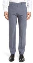 Theory Men's Marlo Vaidenne Flat Front Solid Stretch Wool Trousers