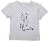 Emile et Ida Sale - Nino Embroidered Fox T-Shirt
