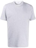 Brunello Cucinelli layered look crew neck T-shirt