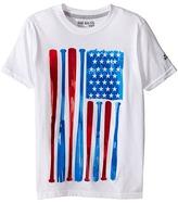adidas Kids - Baseball Flag Tee Boy's Short Sleeve Pullover