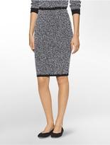 Calvin Klein Eyelash Midi Skirt