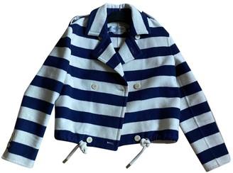 Max Mara Blue Wool Coats