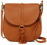 Lucky Brand Ali Leather Flap Crossbody