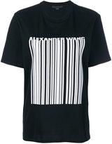 Alexander Wang - bonded barcode